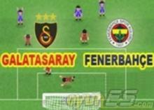 Fenerbahçe Galatasaray Maçı oyununu anlayın oynayın: Yüz yıllık rekabetle Türkiyenin en güçlü iki takımı karşılaşacaklar. Otoriteler bu karşılaşmayı bekliyor. Bahisler ona kilitlenmiş.Oyun yön tuşlarını kullanarak oynanıyor. Pas X tuşu ile, şut çekmek C tuşu ile oluyor. Gol attıktan sonra yavaş çekimbitirmek için X tuşuna bas. Ne kadar uzaktan gol atarsan puanında o kadar yüksek olur.  OyunEs iyi oyunlar diler..