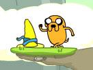 Finn Jake Macerası oyununu anlayın oynayın:Mouse ile PLAY i Tıkla. Boşluk tuşu ile geçemediği yerlerden kendisini küçültmesini sağlayabilirsiniz. Yön Tuşlarını ile yönlendirerek oyunu devam ettir. Şapkayı kap ve oyunu kazan.OyunEs iyi oyunlar diler.
