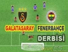 Galatasaray Fenerbahçe Maçı oyununu anlayın oynayın: Ezeli rekabet devam ediyor.  OyunEs iyi oyunlar diler..